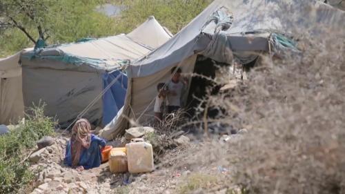 IDP camp, Yemen