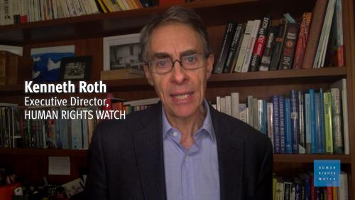 Executive Director of Human Rights Watch Kenneth Roth