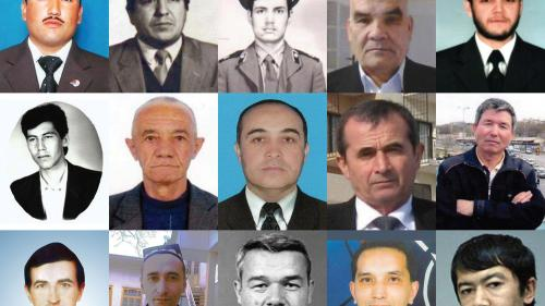 Individuals currently imprisoned on politically motivated charges in Uzbekistan.