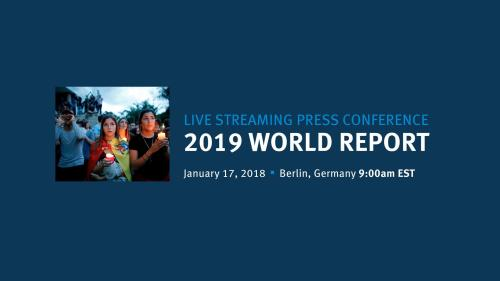 World Report Live News Conference Starting Soon
