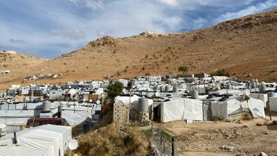 Syrian Refugee camp in Arsal