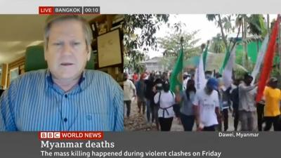 Phil on BBC, on Myanmar