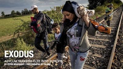 Exodus: Asylum Seekers Flee Into Europe