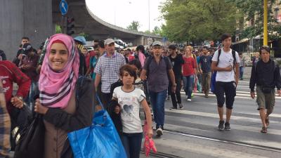 Dispatches: Refugees March out of Hungary
