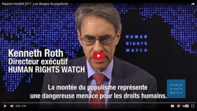 Rapport mondial 2017 : Les dangers du populisme