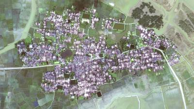 Satellite Imagery: Yae Twin Kyun village-ch