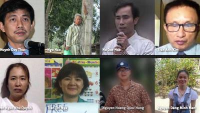 释放越南政治犯!