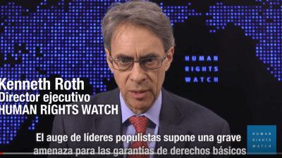 Informe Mundial 2017: El populismo amenaza los derechos humanos