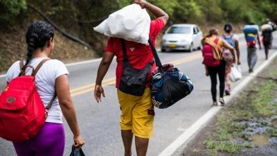 El éxodo venezolano