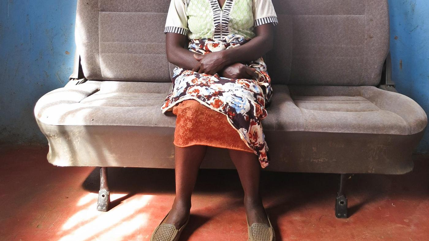 Nafula K.,46, was gang raped together with three other women by four men in January 2008 while at an IDP camp.