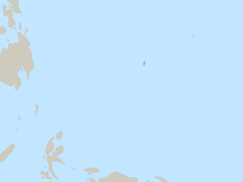 Palau country page map