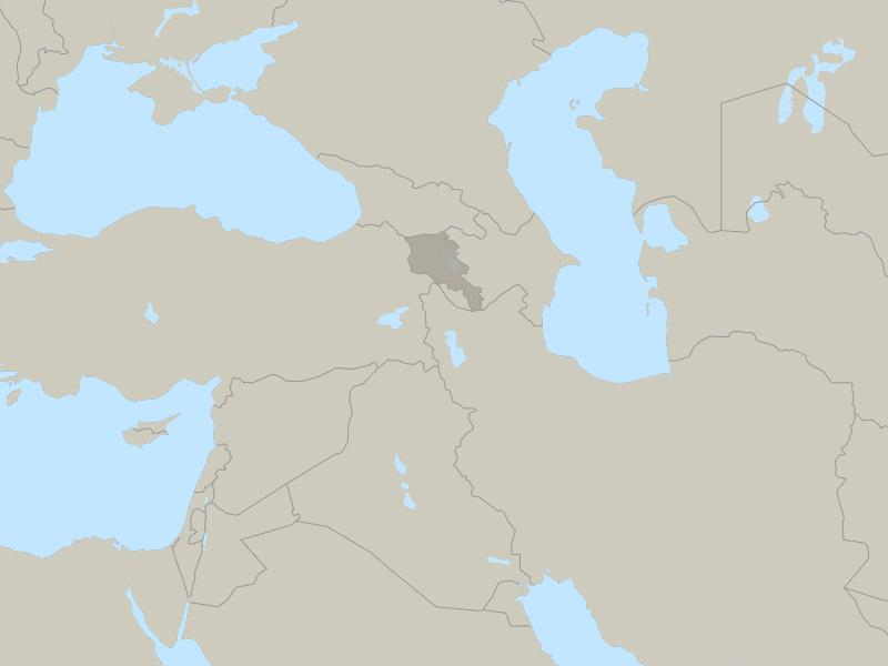 Armenia country page map