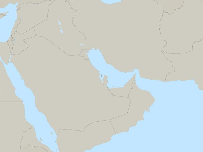 Bahrain country page map