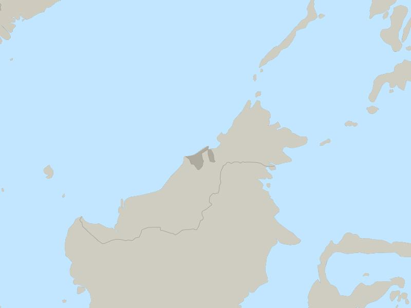 Brunei country page map