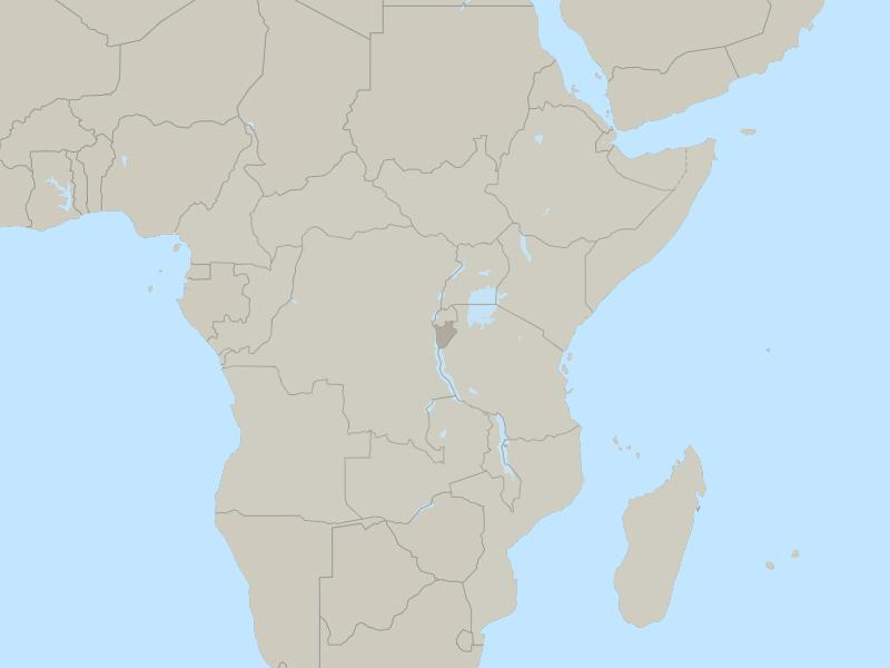Burundi country page map