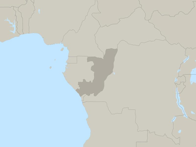 Congo (Brazzaville) country page map