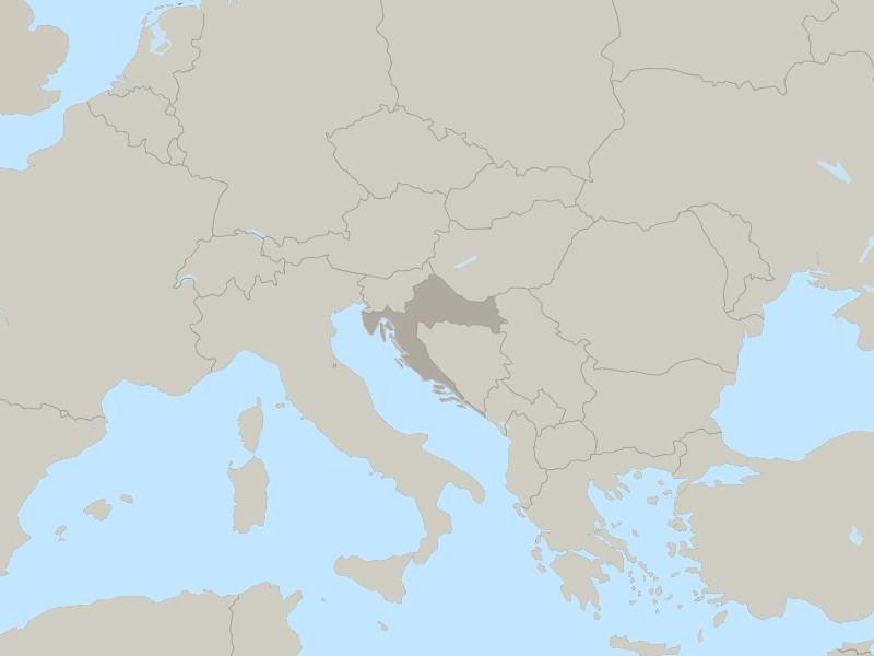 Croatia country page map