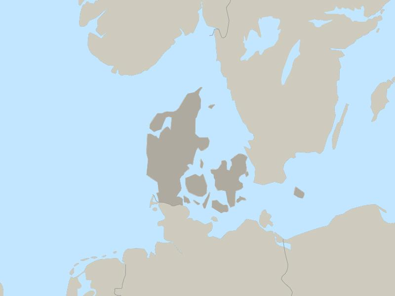 Denmark country page map