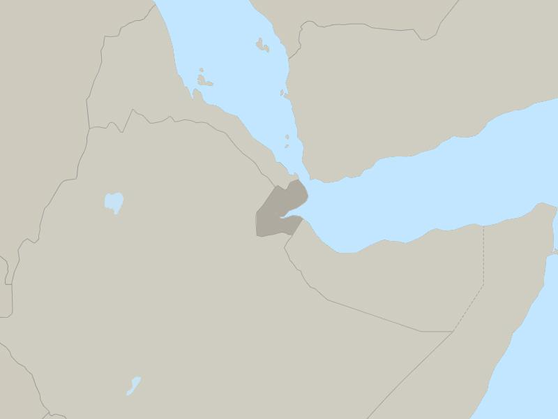 Djibouti country page map