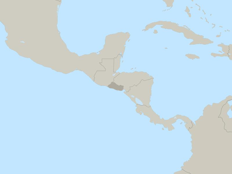 El Salvador country page map