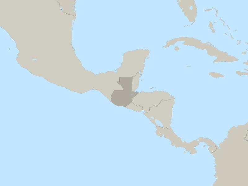 Guatemala country page map