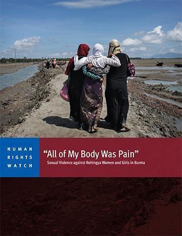 Burma: Widespread Rape of Rohingya Women, Girls