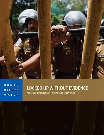 Sri Lanka: Repeal Draconian Security Law