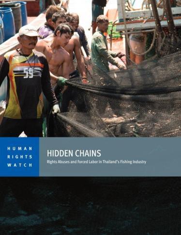 Thailand Weiter Zwangsarbeit Und Menschenhandel In Fischereiflotten