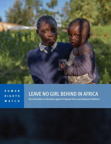 Africa: Pregnant Girls, Young Mothers Barred from School | Human