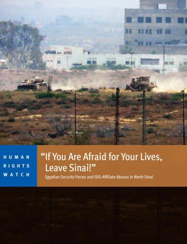 Why Did You Leave Sinai?