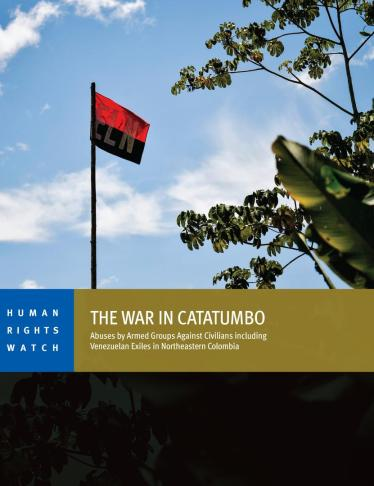 Interview: The War in Colombia's Catatumbo Region