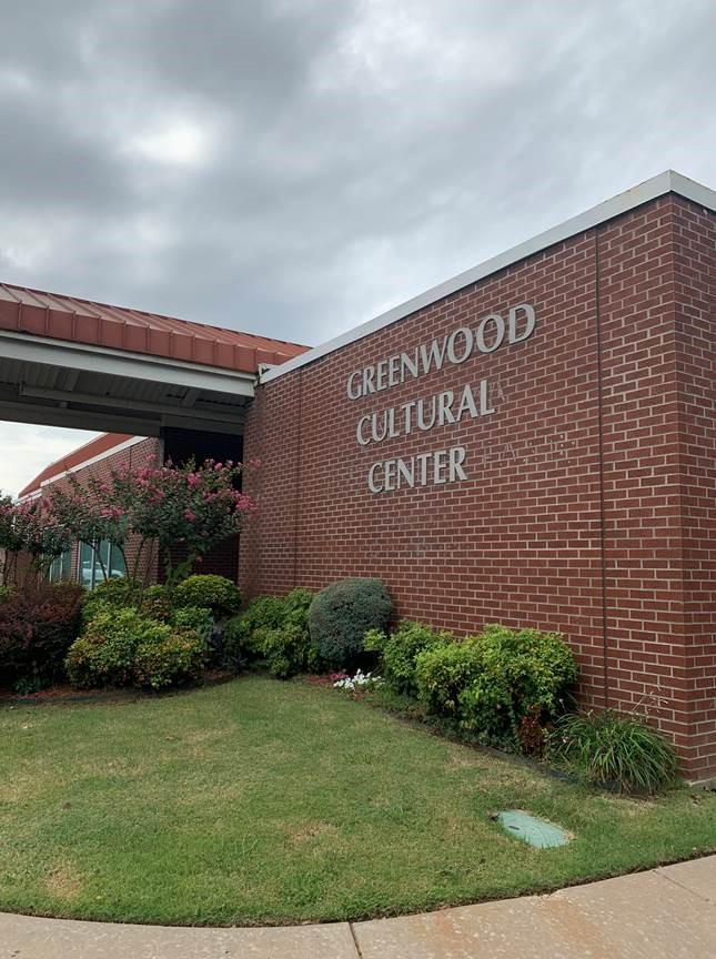 The Greenwood Cultural Center.