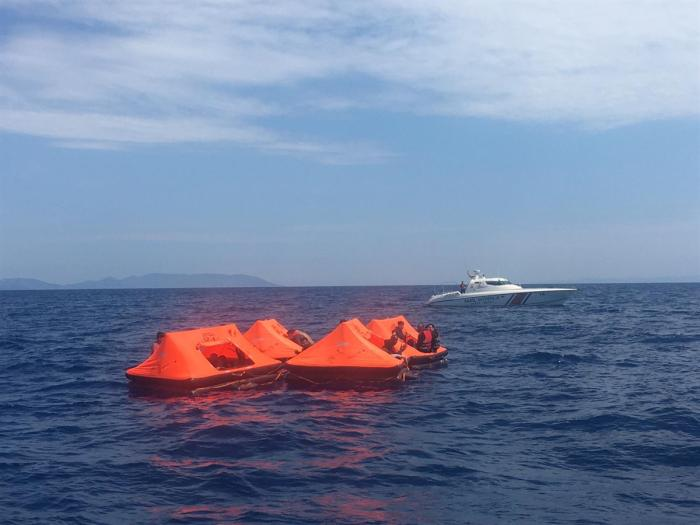 The Greek Coast Guard has been accused of using rescue equipment - namely inflatable, motorless life rafts - to leave asylum seekers and migrants adrift in open water close to the Turkish sea border. May 25, 2020