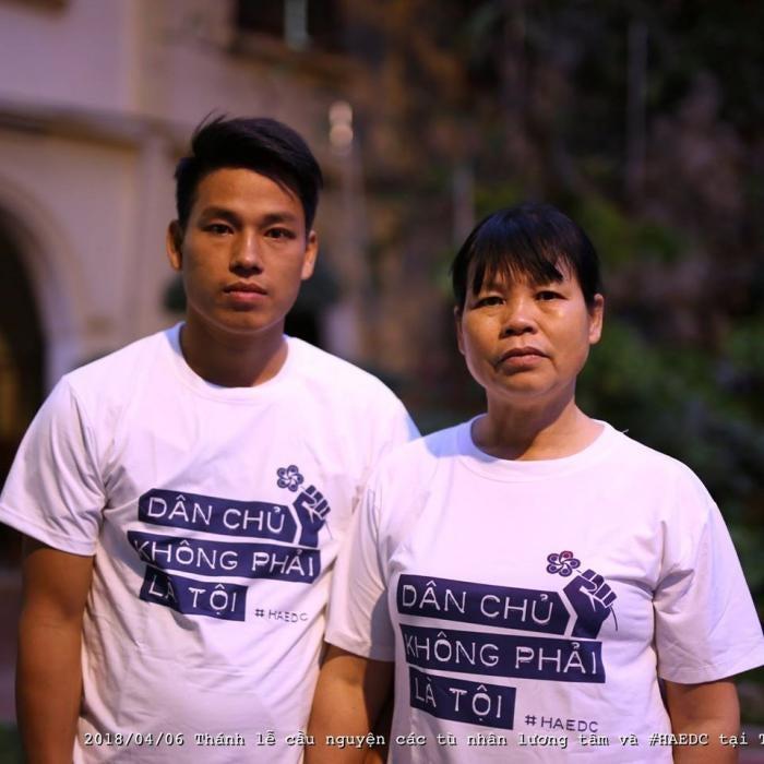 Trịnh Bá Tư and Cấn Thị Thêu