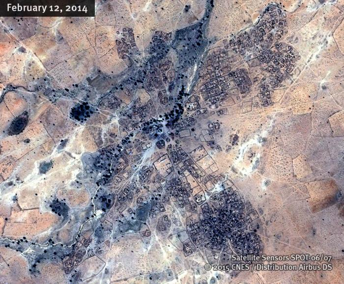 South Darfur UM GUNYA SatelliteImage_A 12FEB14