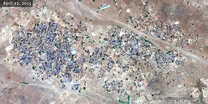 Central Darfur BARDANI Satellite Image B 22APR15