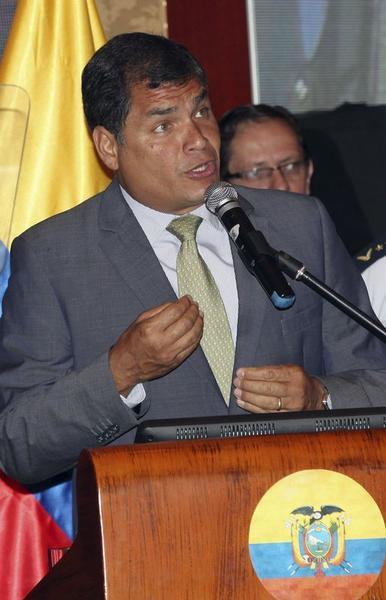 Correa speaks on Human Rights at Inter-American Convention on Human Rights in Guayaquil