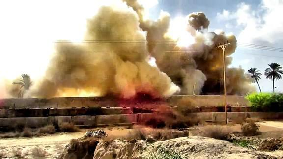 detonation of high explosives November 1-4, 2014