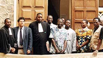 Souleymane Guengueng files first case against Hissène Habré in Dakar in January 2000