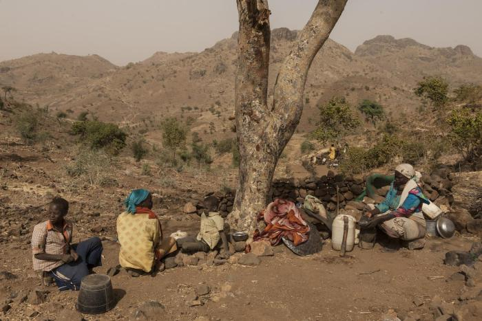 women and children displaced by sudanese rapid support forces