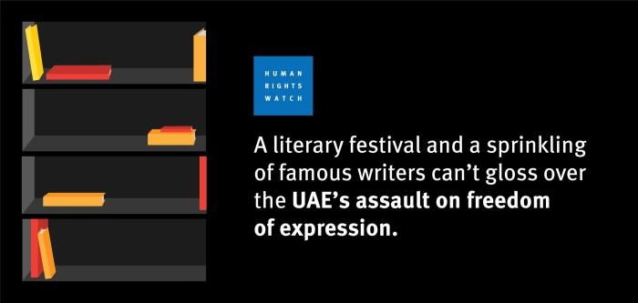 UAE literature graphic