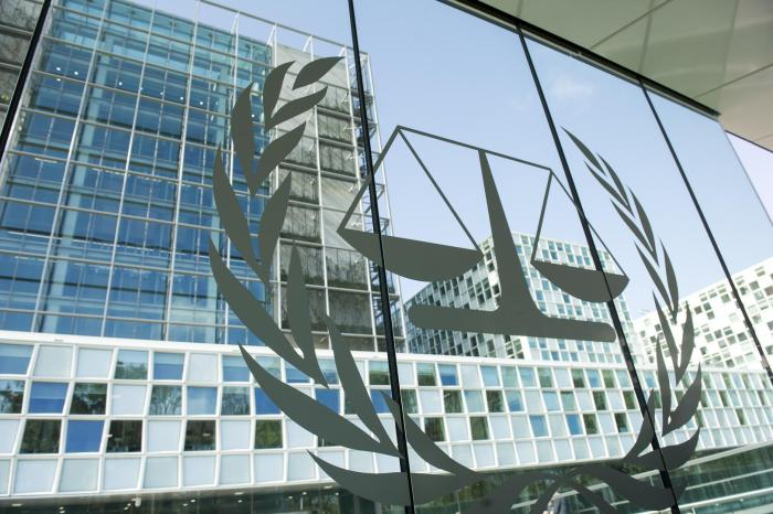 The Permanent Premises of the International Criminal Court in The Hague, Netherlands.