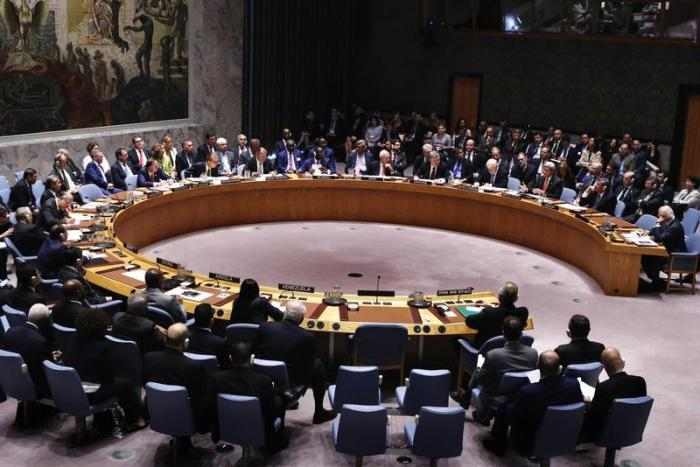 Heads of state and their representatives take part in a meeting of the United Nations Security Council to address the situation in the Middle East during the General Assembly for the 71st session of the U.N. General Assembly at U.N. headquarters in New Yo