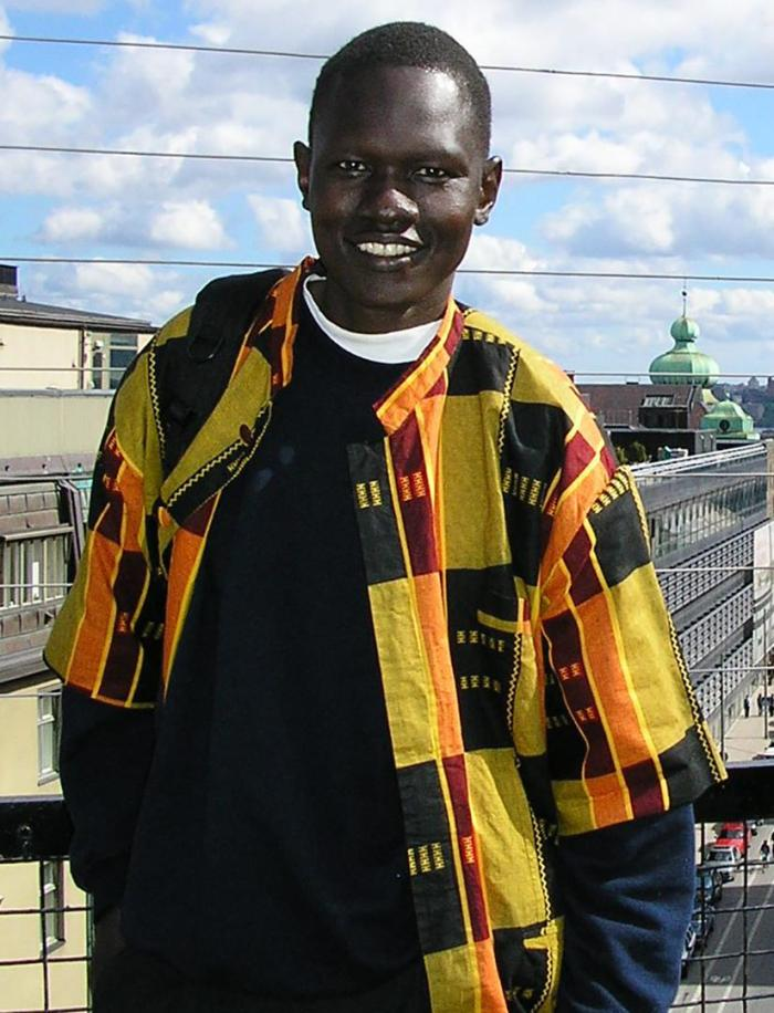 Dong Samuel Luak, a South Sudanese activist and lawyer.