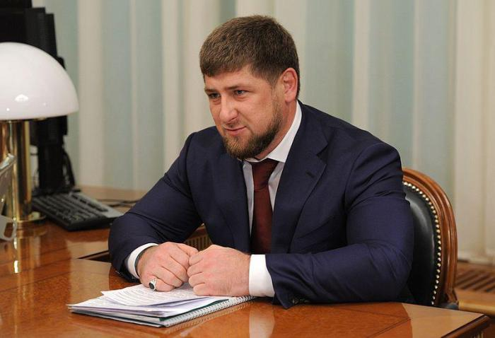 The head of the Chechen Republic, Ramzan Kadyrov, on December 13, 2011.