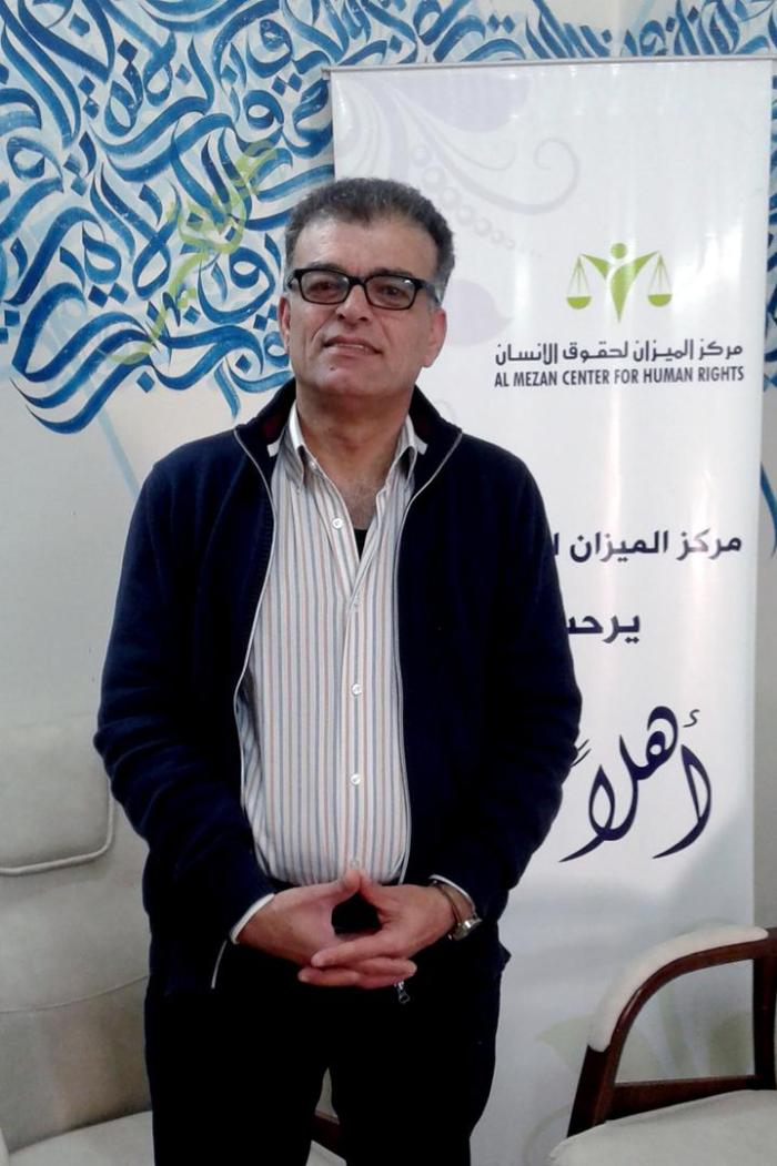 Samir Zaqout is the field research unit coordinator at the Palestinian human rights group Al-Mezan.