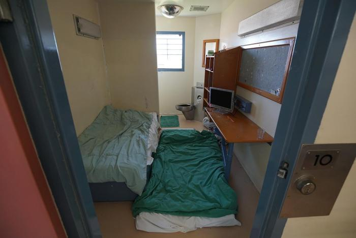 "Due to overcrowding, prisoners in Brisbane Women's Correctional Centre often have to ""double-up,"" with two and sometimes three people confined in a cell originally built for one."
