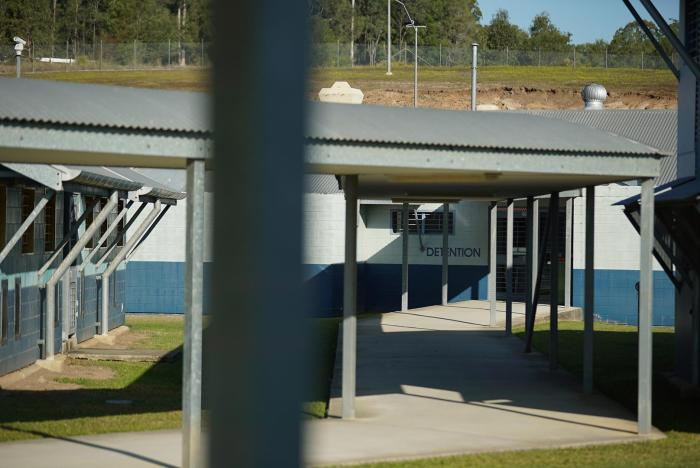 A view of the detention unit in Brisbane Women's Correctional Centre, Queensland.