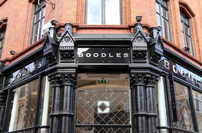 A Boodles store in Dublin, Ireland, 2013.