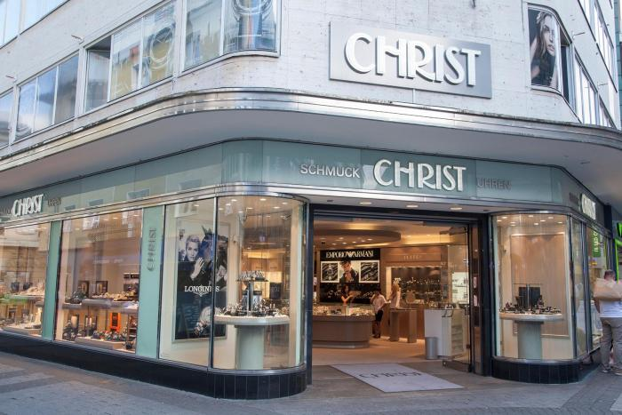 A Christ store in Cologne, Germany, 2002.